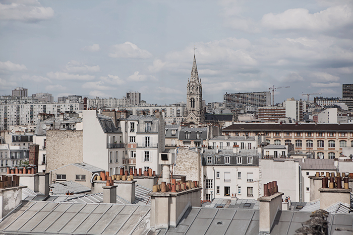 Paris rooftops © Anna  Malmberg