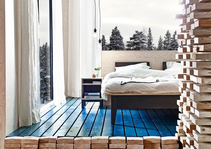 Gör en egen sänggavel av plywood Ett Rum Till
