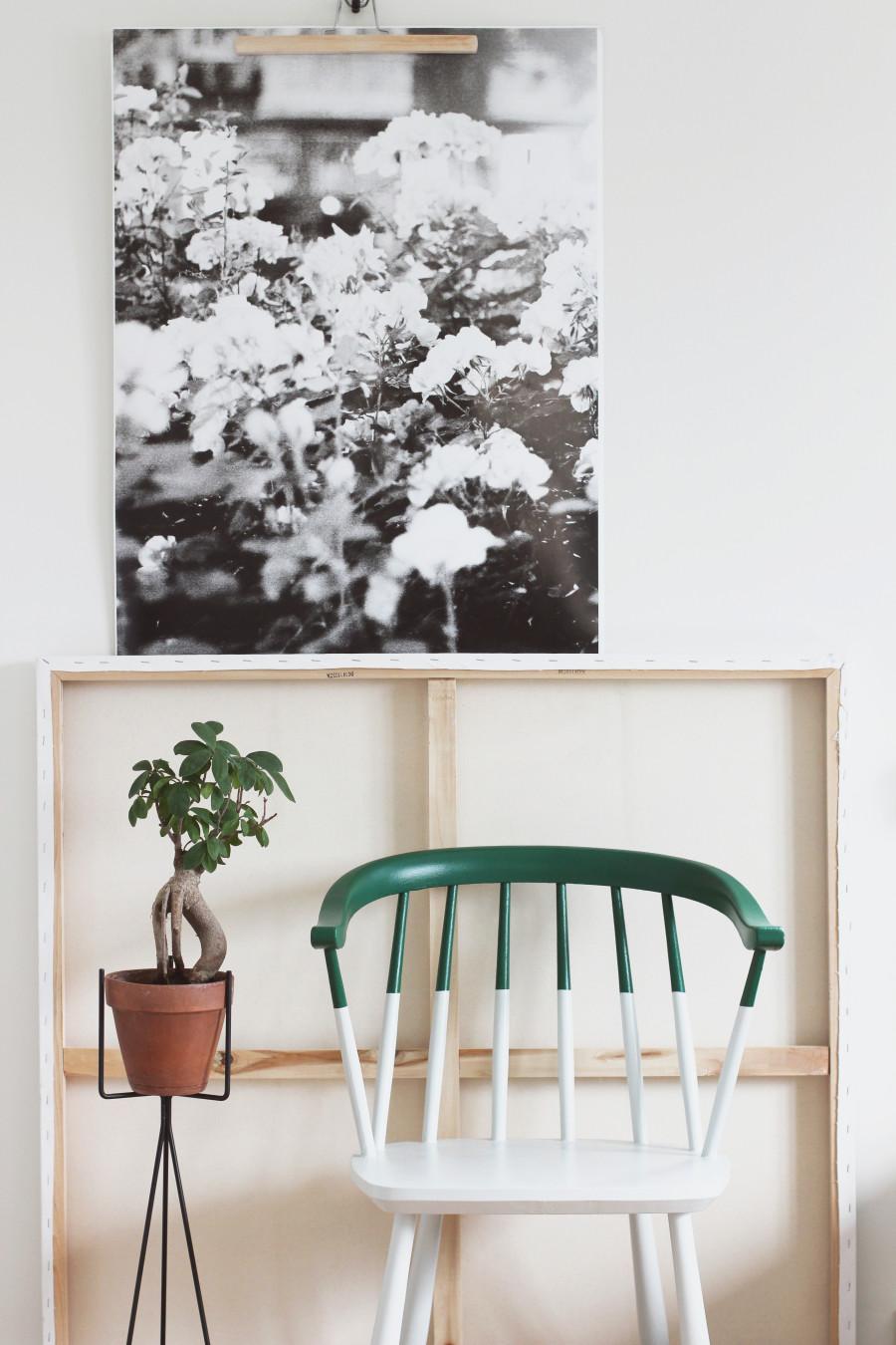 DIY halmålad stol hejregina