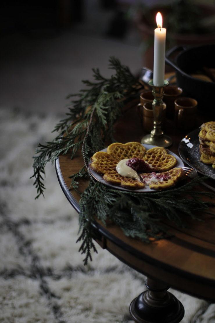 Valj ratt snaps till julens mat