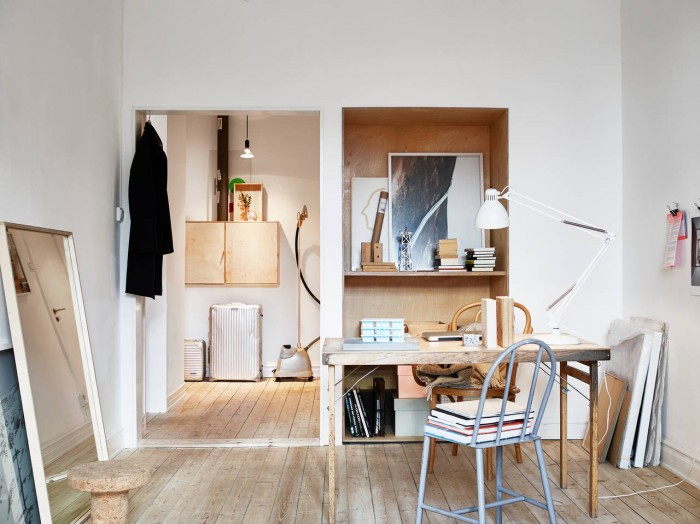 stadshem kungsgatan 9b home office plywood ems designblogg