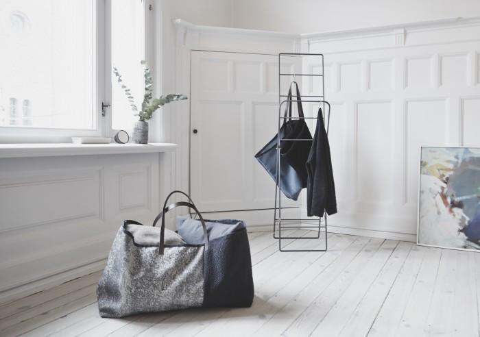 HermanCph ikea bag in kvadrat fabrics