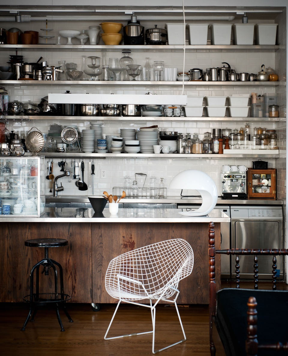 Messy Kitchen Catering: One Pic Wednesday: Industrial Kitchen In NYC Loft