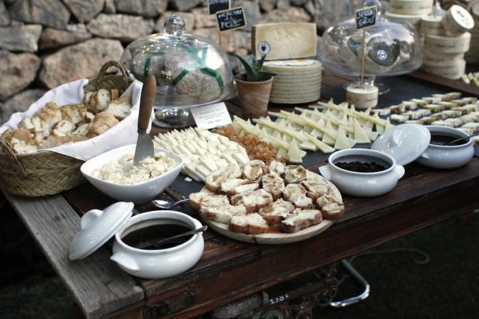 LZF Garden Party Cheese Buffet