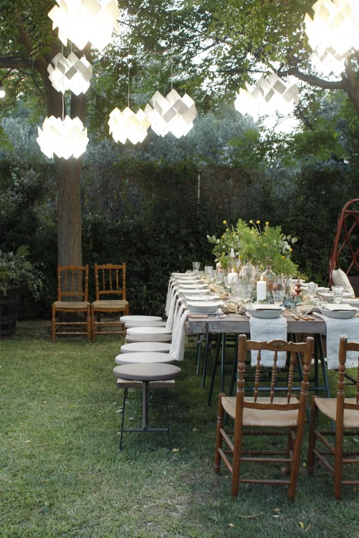LZF Garden Party Dinner Table