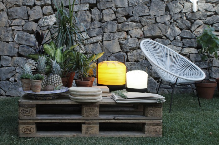 LZF Garden Party Pallet Table