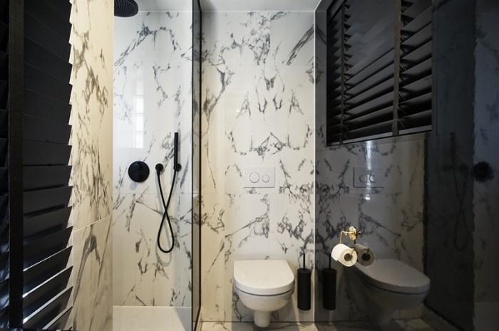 yup hotel marble bathroom