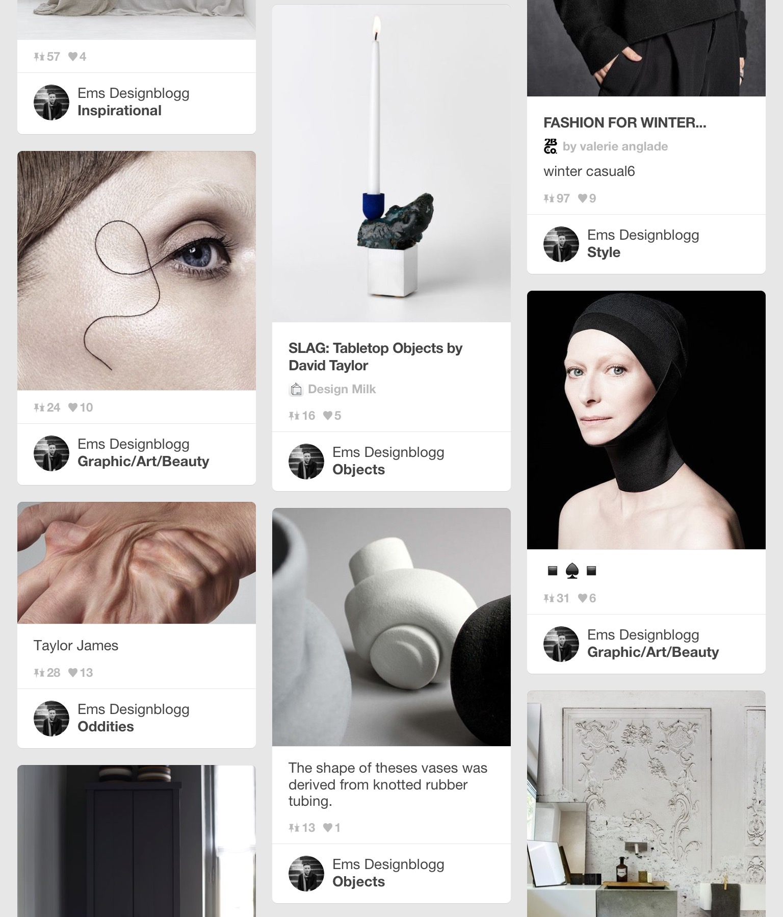 Ems Designblogg Pinterest