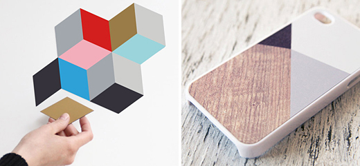 ETSY – Magnets by Snug and iPhone case by BlissfulCASE