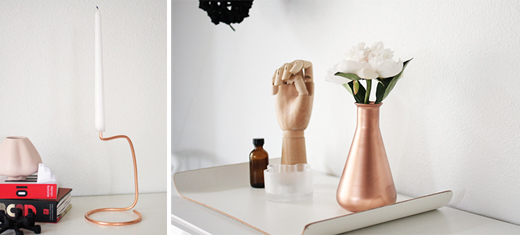 DIY copper ideas from Jennifer Hagler