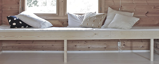 Easy DIY daybed by Minna Jones, Time of the Aquarius