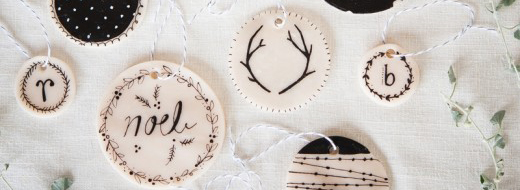 Make Your Own Clay Ornaments by A Beautiful Mess