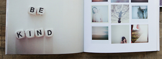 DIY Instagram photo book via Artifact Uprising