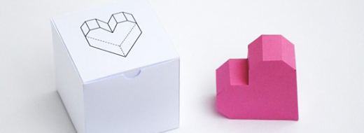 DIY Boxed geometric heart by Mini-eco, http://www.minieco.co.uk/boxed-geometric-heart/