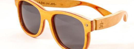 Deck Specks – sunglasses upcycled from skateboard decks