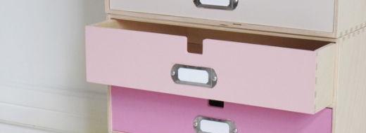 Ikea hack, DIY pop art storage