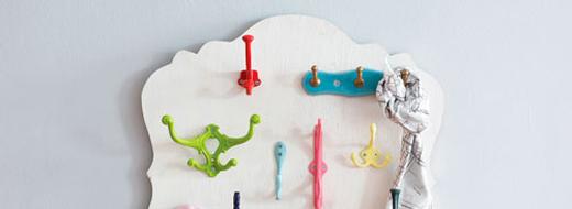 DIY key hook board