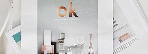 """The DIY book """"Ok - Omin käsin"""" by Finnish bloggers Susanna Vento and Riikka Kantinkoski."""