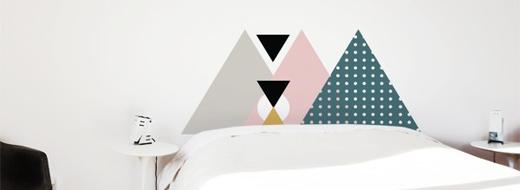 Wall sticker, by Maud Beauchamp & Marie-Pierre Guilmain