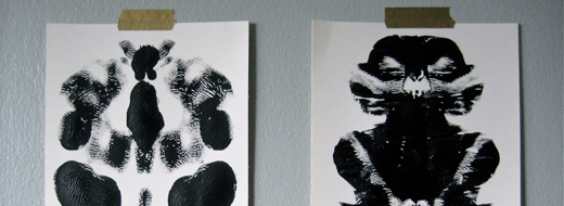 DIY Rorschach Prints