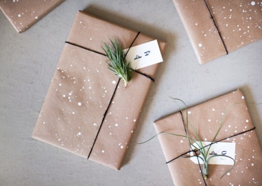 Make your own holiday wrapping paper