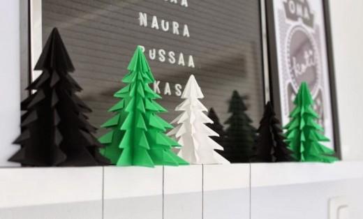 Vik en dekorationsgran diy or die for Elle decor christmas tree