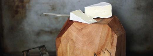 DIY Wooden Geometric Cheese Block, from The Merrythought