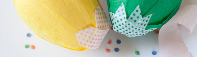DIY Easter Surprise Egg from The Paper Pony