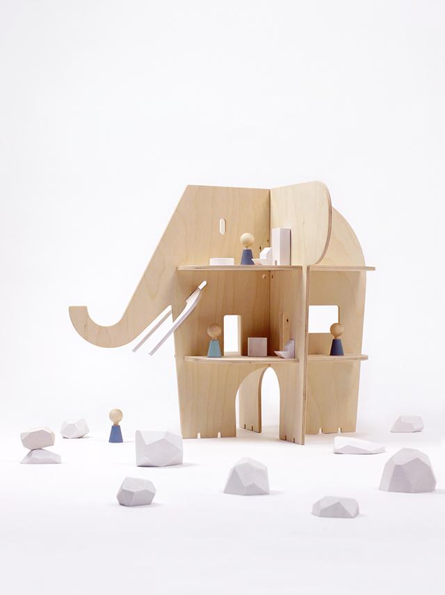 Dollhouse Ele Villa, from Rock & Pebble
