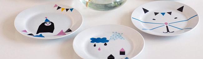 Plates made by Ninainvorm