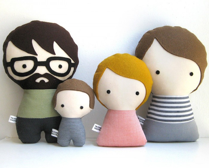 Handmade Personalized Family, by Citizens Collectible