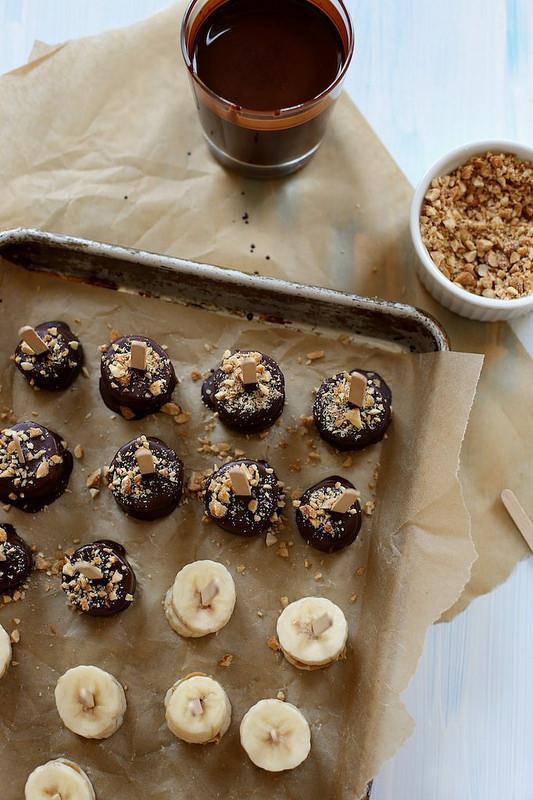 Peanut Butter Banana Bonbons, by Joy The Baker