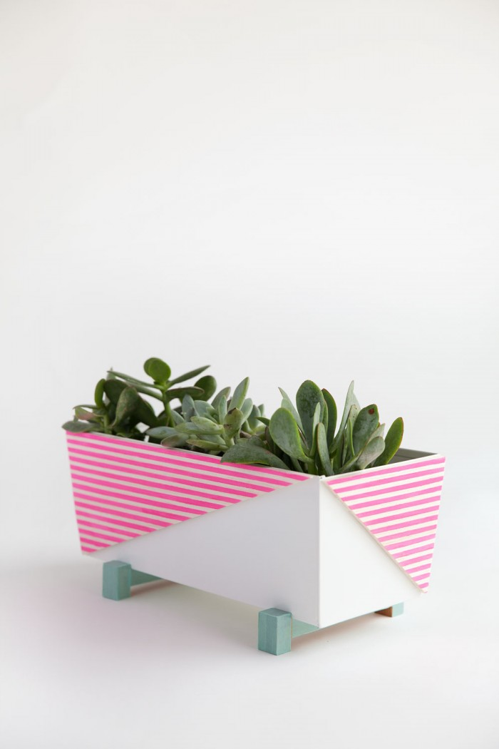 DIY Ikea planter hack, by Tell Love and Chocolate