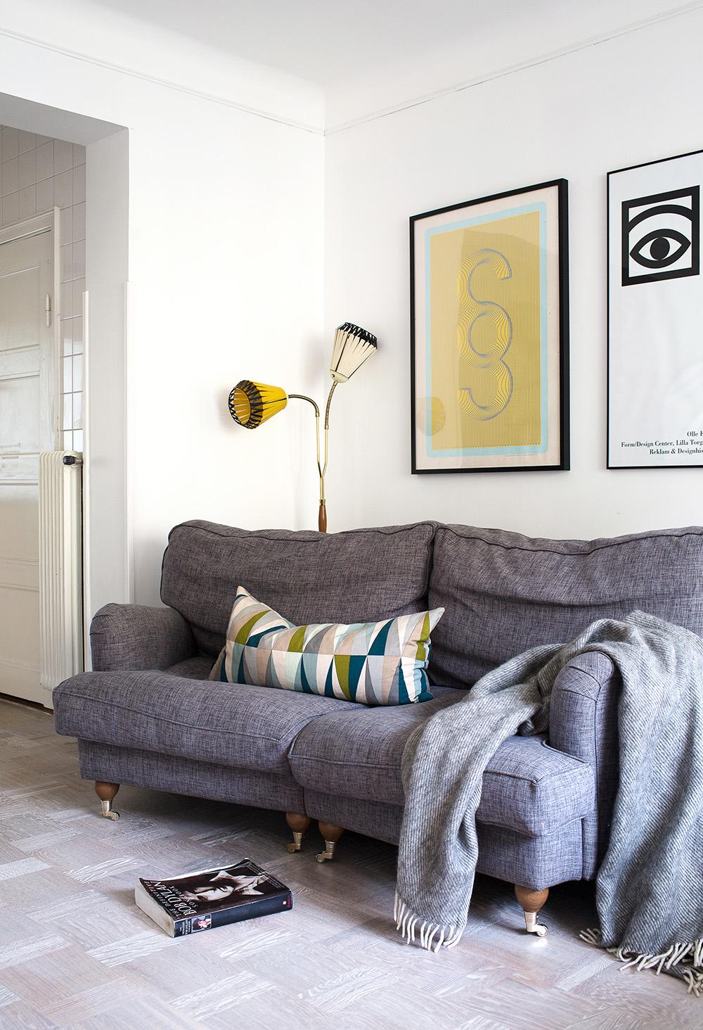 Hemma hos bella soffa
