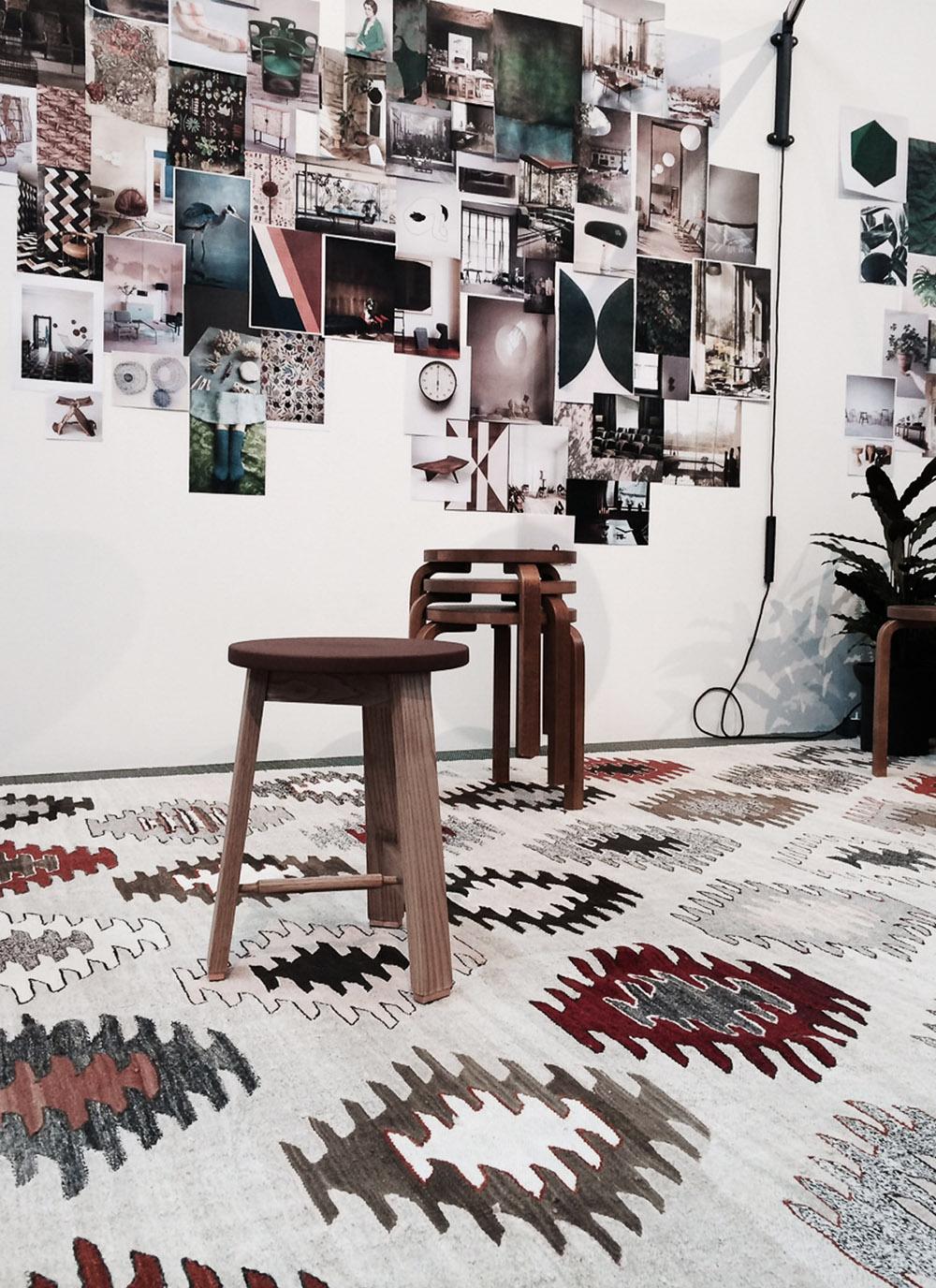 Ilse Crawfoord studio pa stockholmsmassan