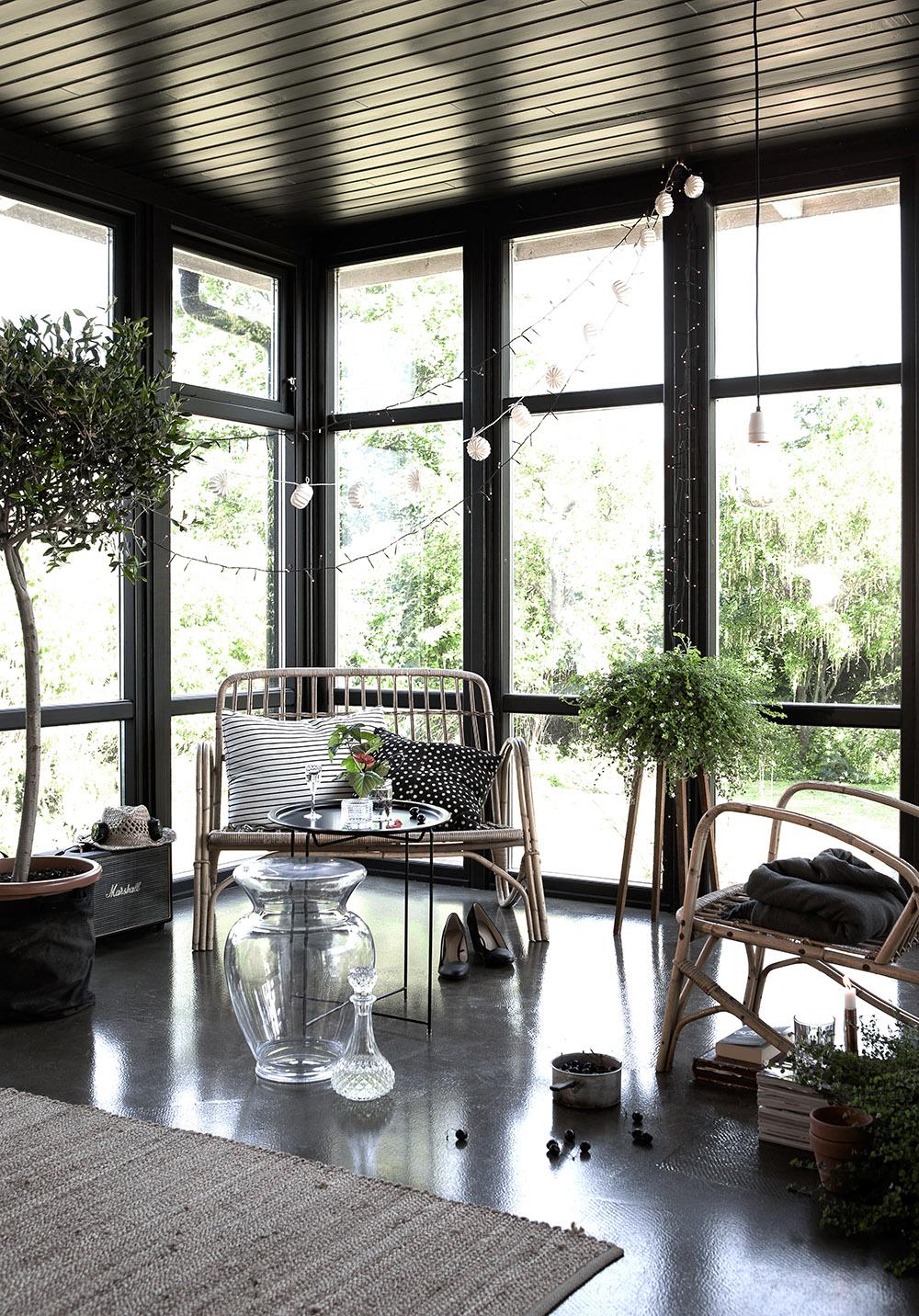 Sommar i glashus