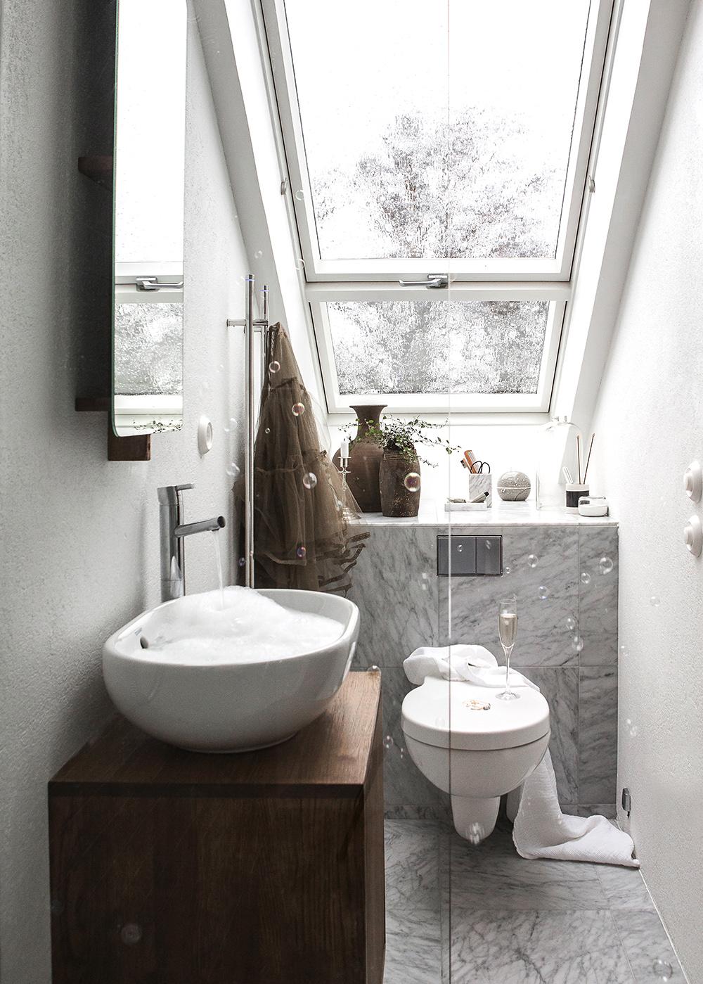 Avkopplande badrum