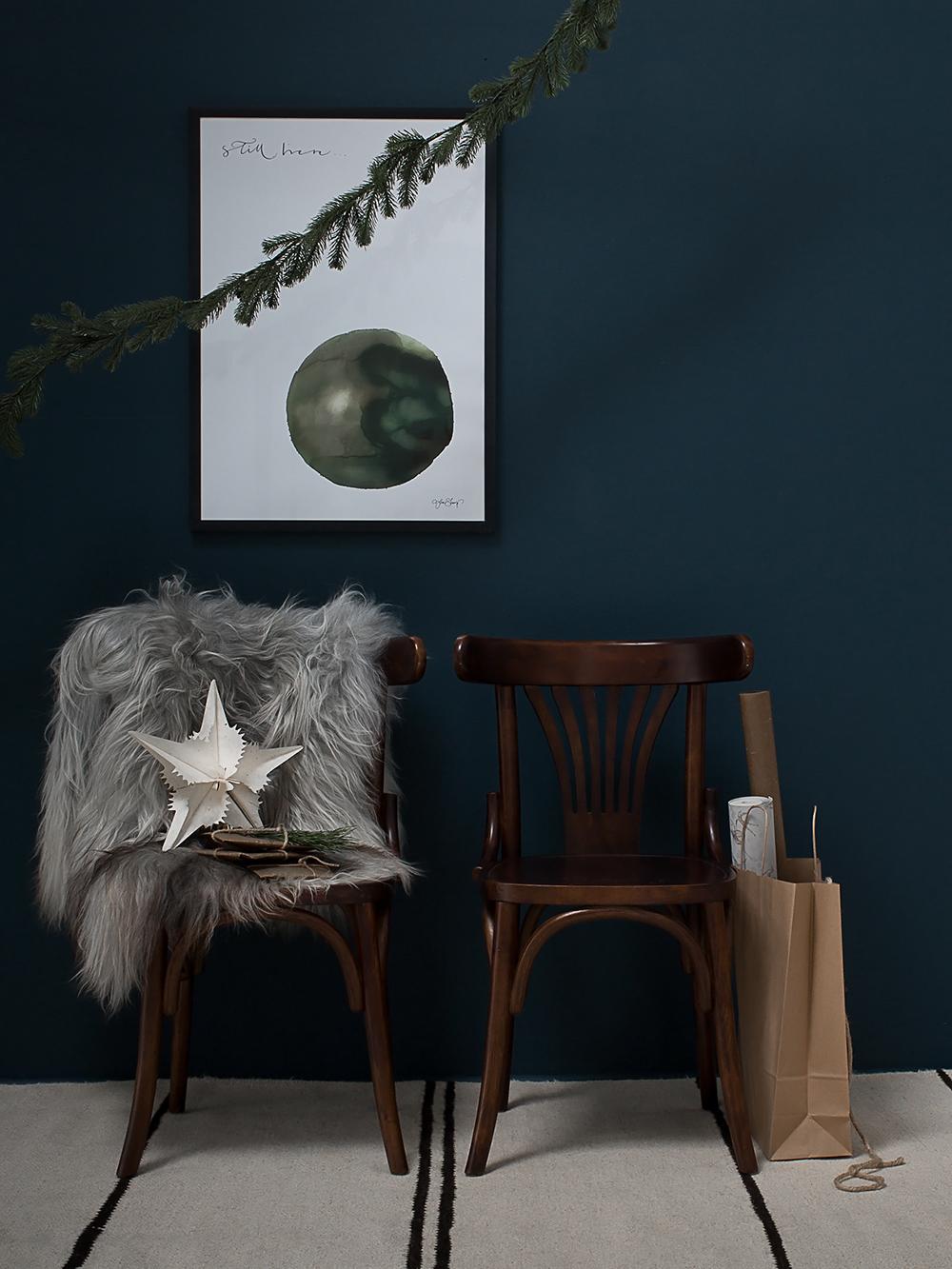 Julbild textil_islandskt farskinn