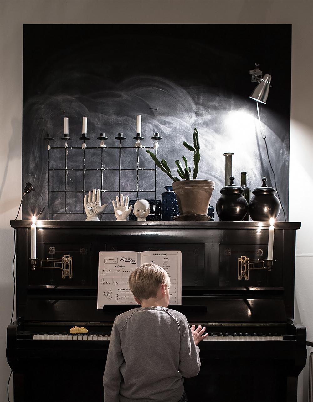 Pianospel o Lussekatt