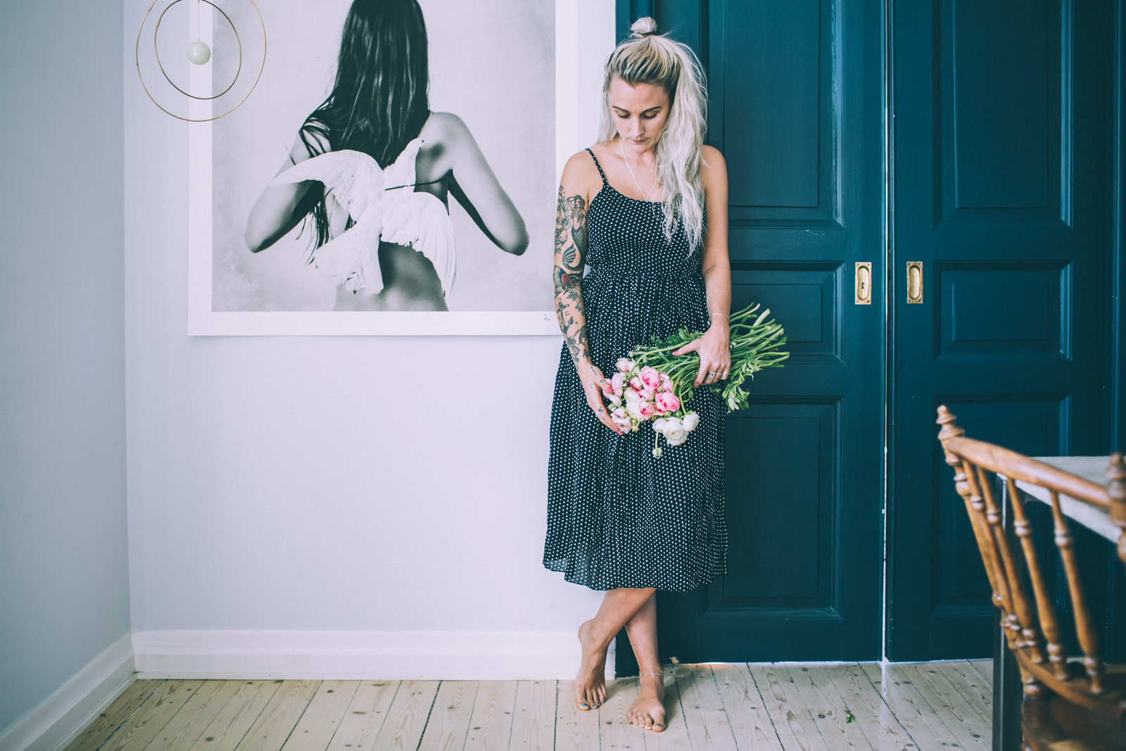 6c3f92e4e3cf Om dagen – Kustfolk 2017 och prickiga klänningar | Krickelin