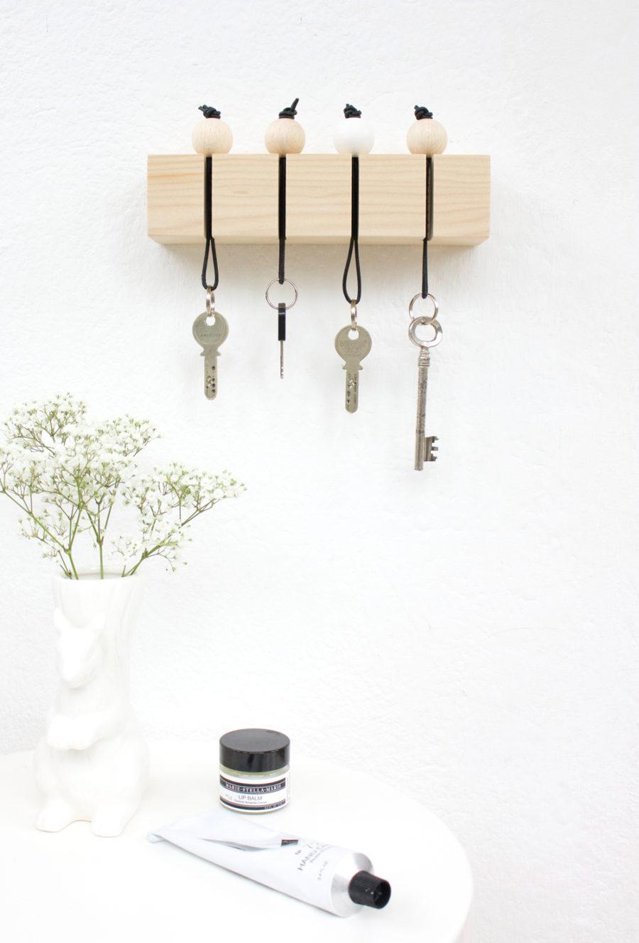 DIY nyckelskåp