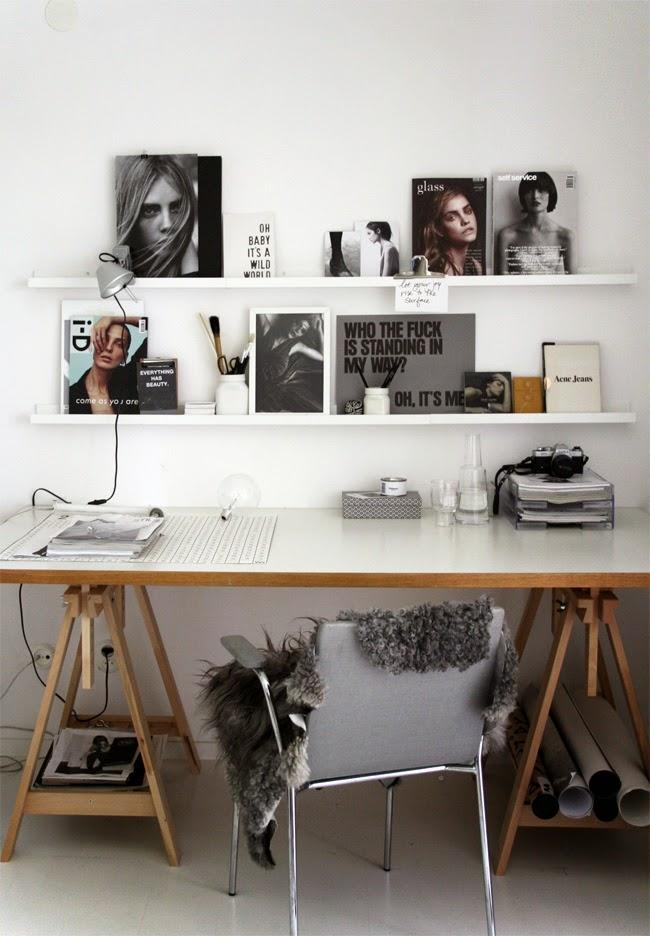 home office work in progress stilinspiration. Black Bedroom Furniture Sets. Home Design Ideas