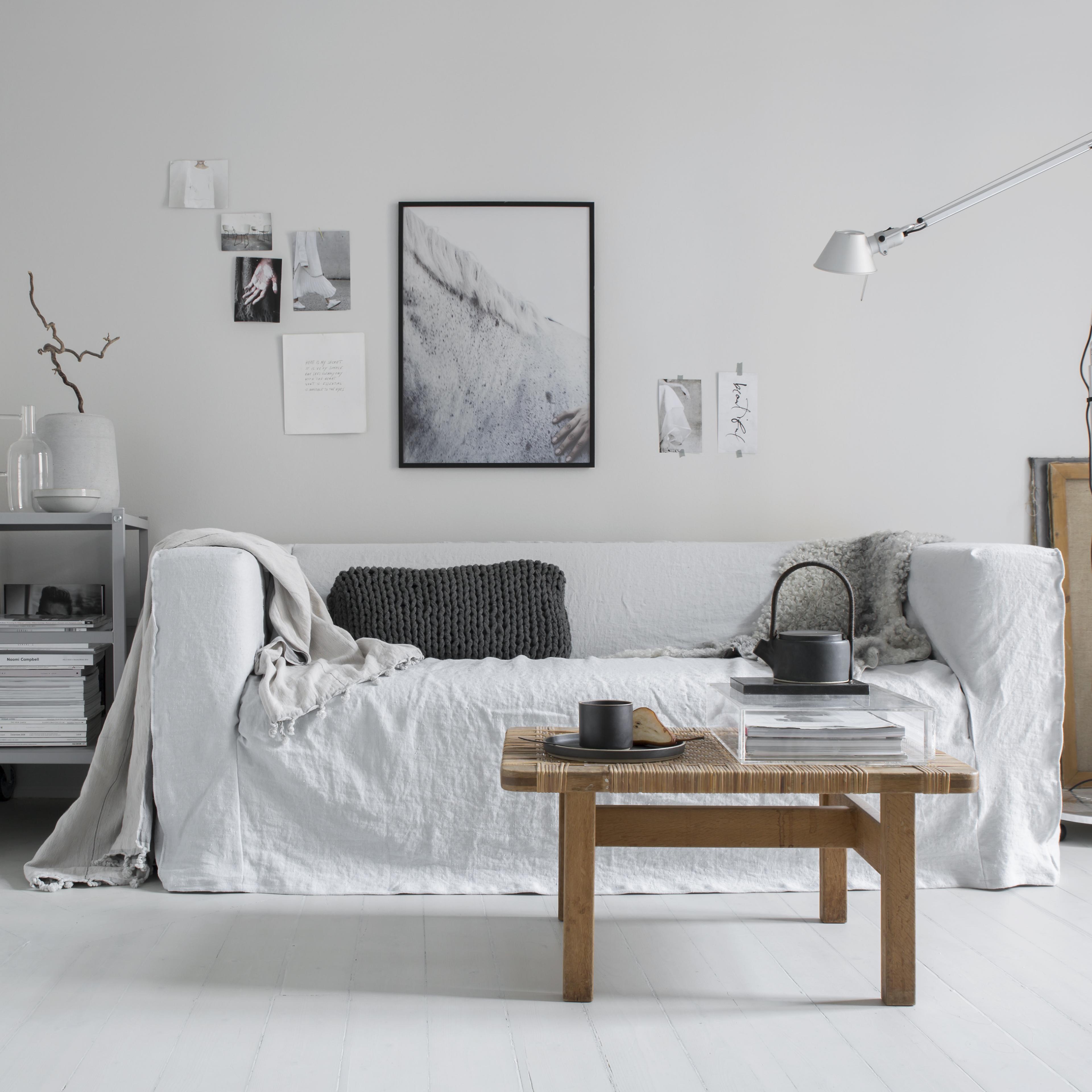 klippan sofa + loose fit urban cover   stilinspiration