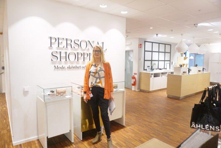 åhlens personal shopping stockholm