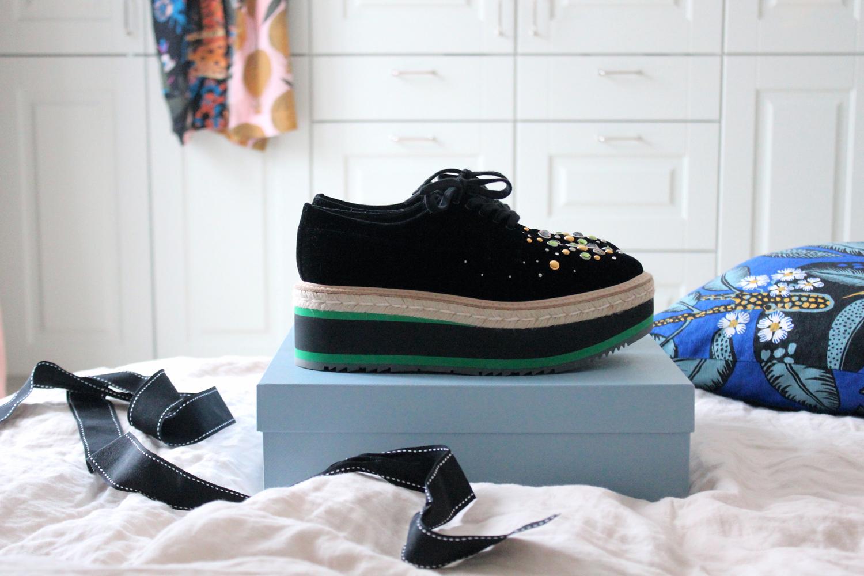 a0b0a7f010d En perfekt mix av coola, knasiga och lyxiga tycker jag. De är dessutom  sjukt sköna, faktiskt bland de skönaste skorna jag har.
