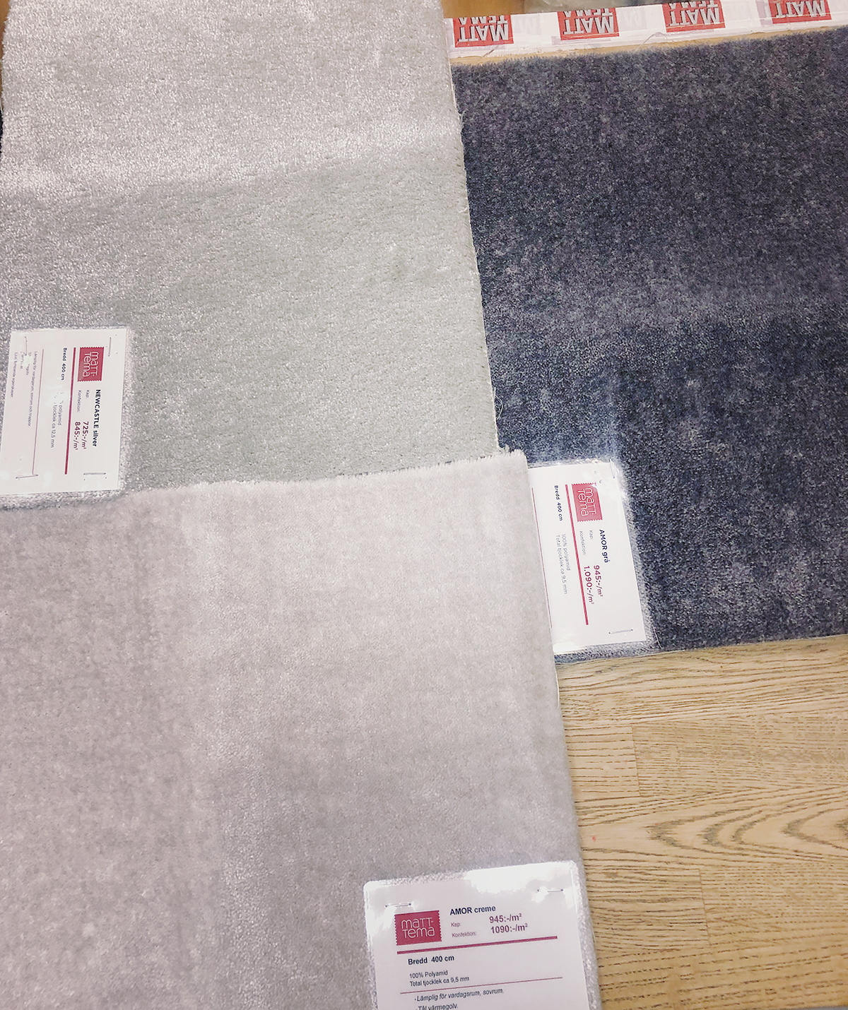 Välkända Måttbeställda mattor | Frida Fahrman WX-26